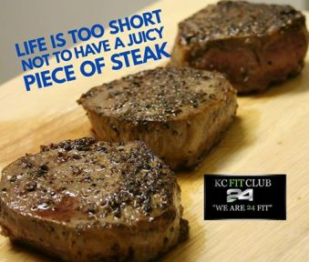 Steak a great High Protein Food